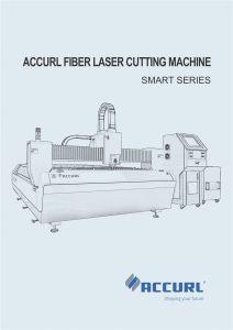 Mesin Pemotongan Laser Serat Accurl Seri KJG Cerdas