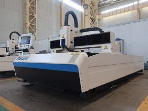1000w 1500 x 3000mm metal sheet laser cutting machine nga adunay ipg fiber laser