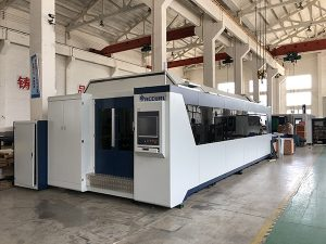 12mm CNC Sheet Metal Laser Cutting Machine | Harga Mesin Pemotongan Laser Serat 3KW 2KW 1KW 500W