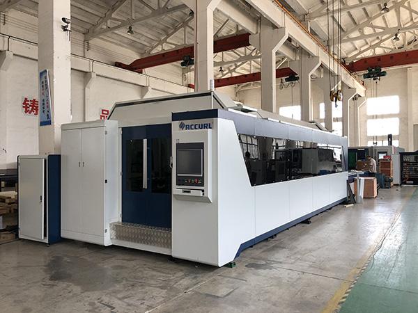12mm CNC Sheet Metal Laser Cutting Machine | Harga Mesin Pemotongan Laser Serat 3KW 2KW 1KW 500W