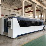 Mesin pemotong laser serat 1500mmx3000mm dengan sumber laser 500w, 700w, 1000w