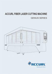 Mesin Pemotongan Laser Serat Accurl Genius Series