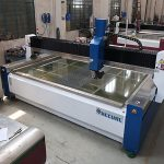 2000 * 1500mm 380 mpa tekanan tinggi cnc water jet cutting machine