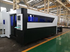 300w 500w 800w 1000w 1500w máquina de corte con láser de ferro