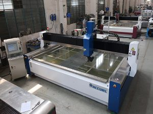 3020 cnc gantry waterjet cutting machine dengan pump drive langsung