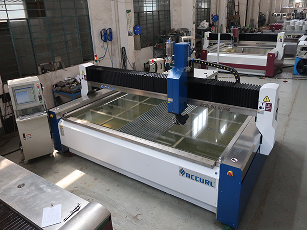 3020 CNC gantry waterjet cutting machine with direct drive pump