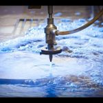3D 5 Axis Waterjet CNC Machine-Water jet Cutting Stainless Steel-High Pressure Waterjets