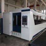 Mesin pemotong laser serat 500w / 1000w