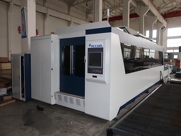 500W/1000W fiber laser cutting machine
