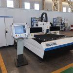 500w 750w 1kw høj præcision fiberplader laser skæremaskine pris salg
