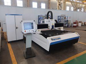 Venda do preço da máquina de corte do laser da chapa metálica da fibra da elevada precisão de 500w 750w 1kw