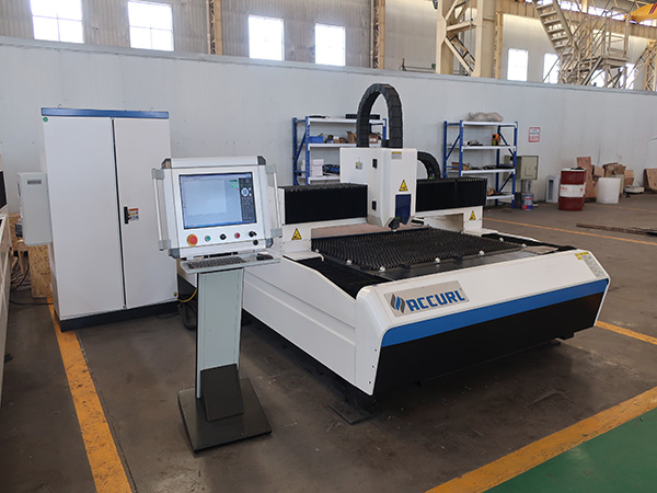 500w 750w 1kw Mesin pemotongan Laser lembaran kepersisan berketepatan tinggi harga untuk dijual