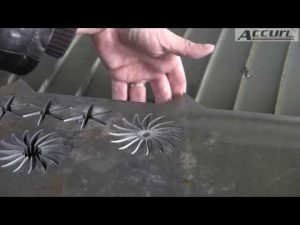 5D 5 Axis Waterjet CNC Mesin-CNC Air Jet Cutting Machine-Tebal Pemotongan Logam