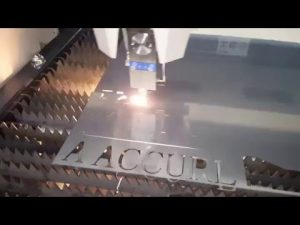 ACCURL IPG 500w 700w Fiber Laser Cutting Machine - CNC Laser Cutting Machine for Mild Steel 6mm