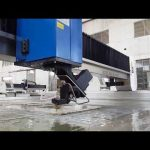 accurl waterjet cutting machine for waterjet cutting metal, stone, glass, steel