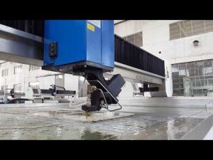 tumpak na waterjet cutting machine para sa waterjet cutting metal, bato, baso, bakal