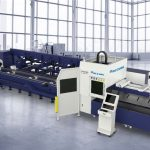 hot sale fiber laser cutting machine for metal pipe profile cutting