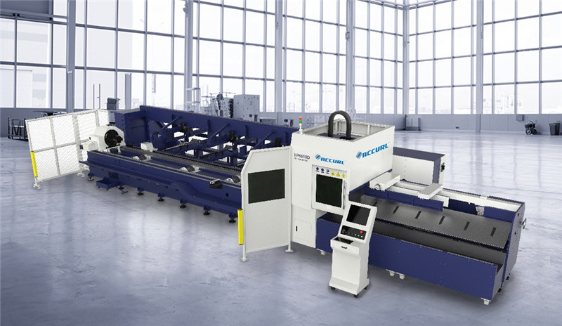 Accurl tube laser cuuting machine
