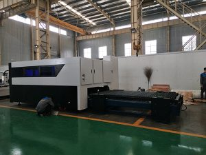CNC 500W Fiber Cutter Engraver Multifungsi Sheet dan Pipa Metal Fiber Laser Cutting Machine