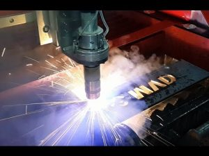 CNC Plasma Cutting Machine - Table CNC Plasma Cutter Produsen dengan Hypertherm HRP130XD Power