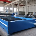 single sided driven cnc flame cutting machine , sheet metal plasma cutter for any shape