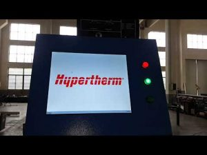 CNC Plasmaskärning och OXY Flame Cutting Machine med Hypertherm HyPerformance Plasma HPR400XD