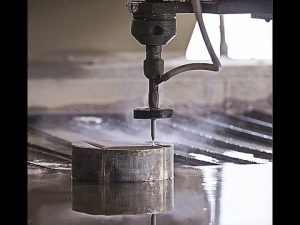 Ang CNC Water Jet Cutting CNC Waterjet Cutting Machine para sa Cutting Steel - Granite - Plastik