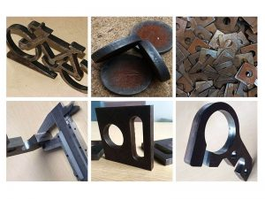 CNC carbon steel plasma cutting projects