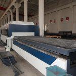 Kina højeffektiv cnc raycus / max / ipg laserskæremaskine i rustfrit stål med fiberslase