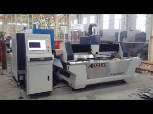 Serat 500W CNC Laser Cutting Machine untuk Sheet Metal 6mm Mild Steel, Stainless Steel, Tembaga, Kuningan