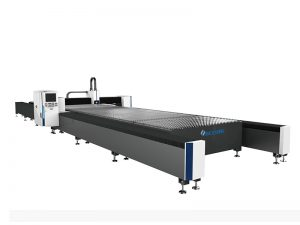metal plate 4kw fiber laser cutting machine nga adunay working table 2000x6000mm