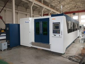 high efficiency 2000w carbon steel fiber laser cutting machine , fiber laser machine for stainless