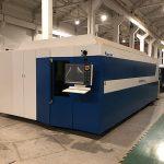 Alta potenco cnc-fibra lasero tranĉanta maŝinon por neoksidebla ŝtalo