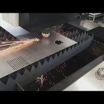 қалайша қайнатпайтын болаттан жасалған 700w 1000w талшықты парақты металды cnc лазерлік кесу машинасы