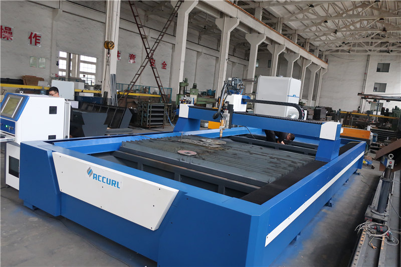 máquina automática de corte de plasma de hipertermia cnc, cortador de plasma industrial de cnc