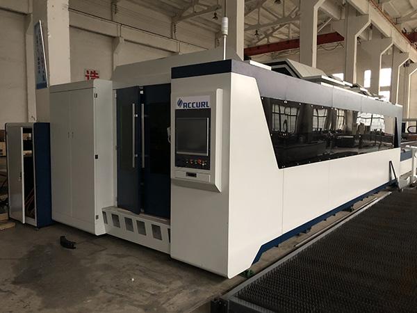 Jinan spc automatic 3mm laser cutting aluminum plates machine