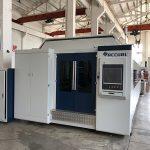 dako nga gahum 1000w ~ 4000w fiber laser cutting machine alang sa hapsay nga metal sheet cutting