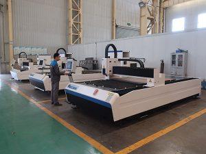 300w 500w 750w 1000w 2000w 2000w 3000w 8000w ლითონის ბოჭკოვანი ლაზერული ჭრის მანქანების ქარხანა