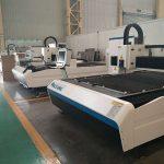 neoksidebla ŝtalo karbona ŝtalo fera fibro lasero tranĉanta maŝinon 500-vattaj fabriko prezo por vendo