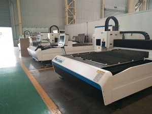 stainless steel carbon steel iron fiber laser cutting machine 500watts factory price for sale