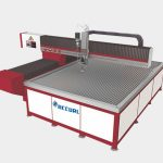smooth surface abrasive water jet cutting machine water jet stone cutter low noise