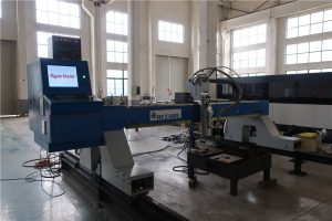 लोहे / स्टेनलेस स्टील प्लाज्मा कटर लौ काटने के उपकरण अनुकूलित सीएनसी नियंत्रण