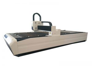 Máquina láser de fibra 1000w cnc 3015 de corte de aceiro inoxidable de aluminio de aceiro leve ao mellor prezo