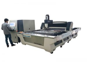 serat laser cutting mesin 500W cnc logam untuk dijual