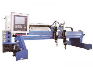 3 ~ 7 meters rail span c and c plasma cutter , automatic cnc gas cutting machine