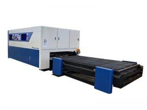coupeur de laser de fibre de cnc 3015 6000w 8000w pour l'aluminium