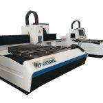 Malmultekosta cnc 2000w ipg fibro optika 4000mm lasero folia metala tranĉilo por vendo