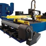 table type cnc plasma cutting machine for metal sheet