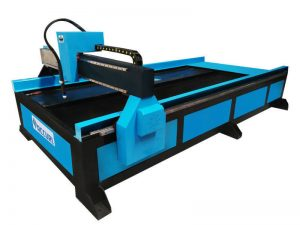 chinese supplier cnc table plasma/flame cutting machine for mechanical products