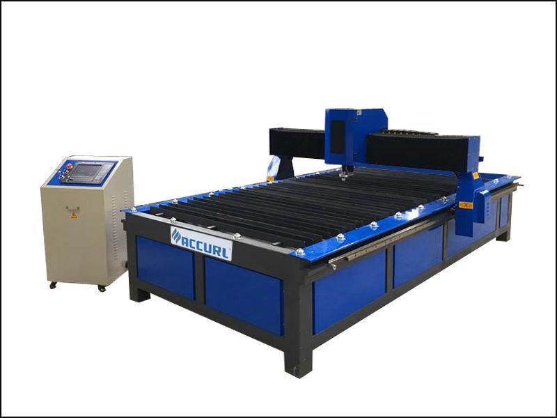máquina de corte do perfil do plasma do cnc